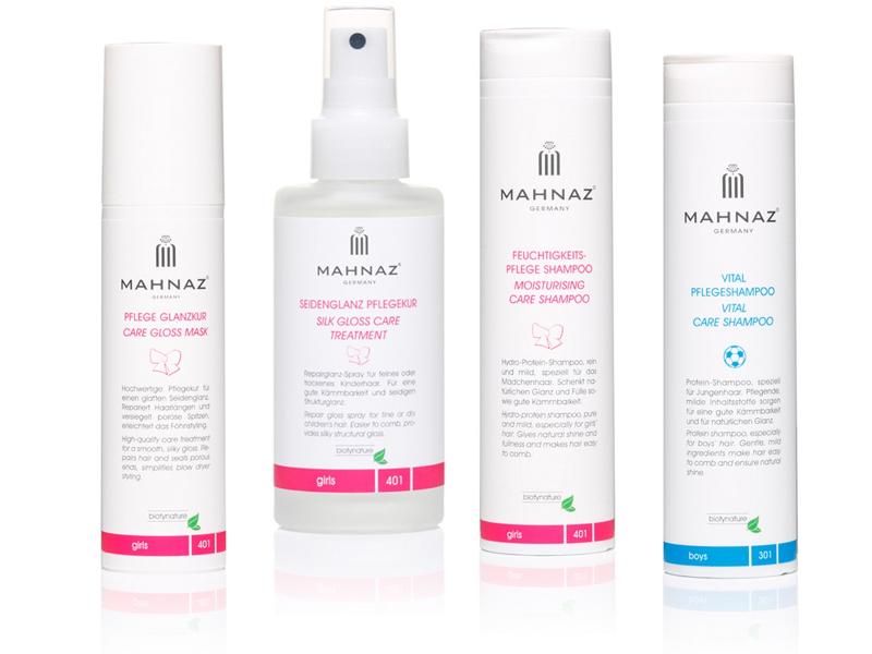 Für Kinder sollten eigene Pflegeprodukte für Haut und Haar benutzt werden