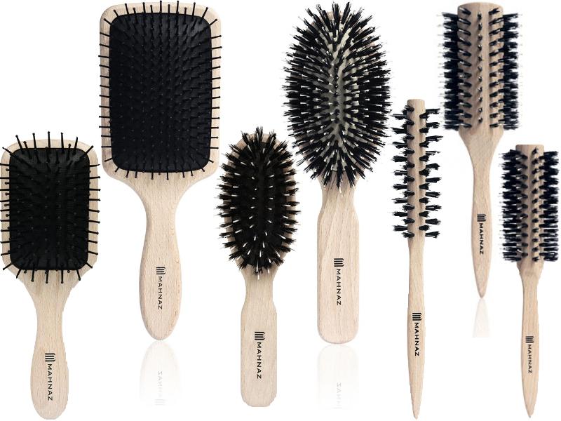 Holz Bürsten für jeden Haartyp bei MAHNAZ kaufen